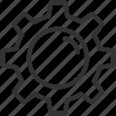 configuration, gear, options, setting, settings icon