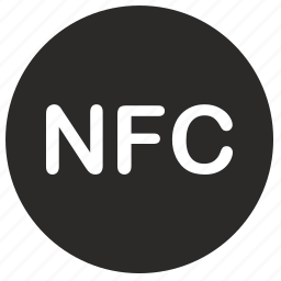 chip, dot, label, nfc, pay, payment icon