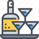 alcohol, bottle, drink, party, wine icon