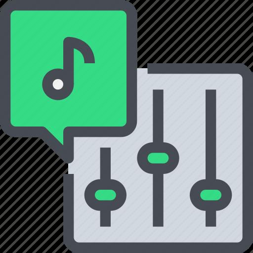 control, dj, mixer, music, party, sound icon