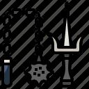 arts, chain, fight, fighting, martial, miscellaneous, ninja icon