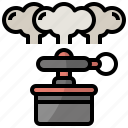 appearing, bomb, katana, miscellaneous, ninja, smoke icon