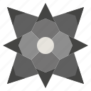 blade, blades, interface, kill, miscellaneous, shuriken, star icon