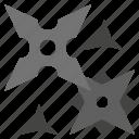 blade, makibishi, miscellaneous, ninja, sassasin, security, shuriken icon