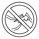 insect, line, malaria, mosquito, outline, virus, zika icon