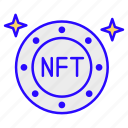 virtual, asset, blockchain, nft, crypto, cryptocurrency, tokens icon