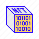 virtual, asset, blockchain, nft, crypto, digital, token icon