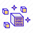 digital, asset, blockchain, nft, crypto icon