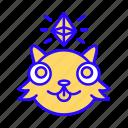 cryptokitties, crypto, kitties, kitty, nft, ethereum, collectible icon