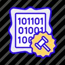art, crypto, assets, auction, beeple, nft, blockchain icon