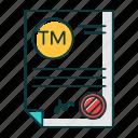 brand, certificate, license, name, patent, registration, trademark