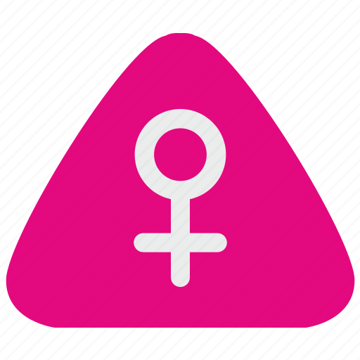 gender, girl, lady, notice, sex, woman icon