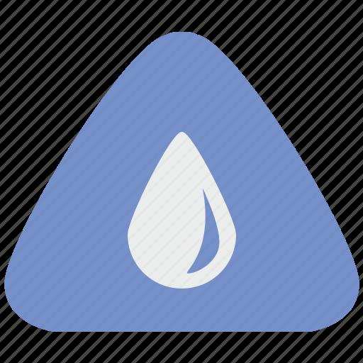 drop, fluid, notice, water icon