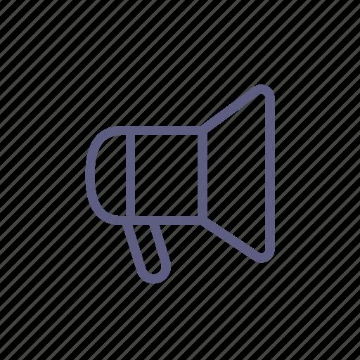 announcement, megaphone, notice, notification, signal, speaker, volume icon