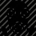 air filter, gas mask, helmet, respirator helmet, scuba mask icon