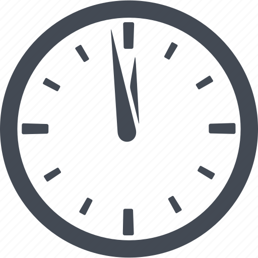 clock, nuclear weapon, time, timer icon