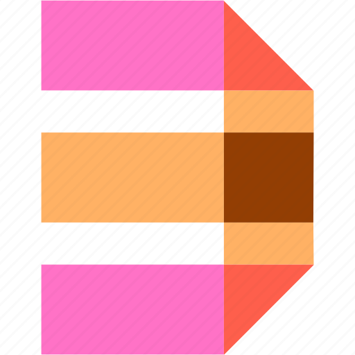 abstract, color, figure, number, numbers, numeral, three icon
