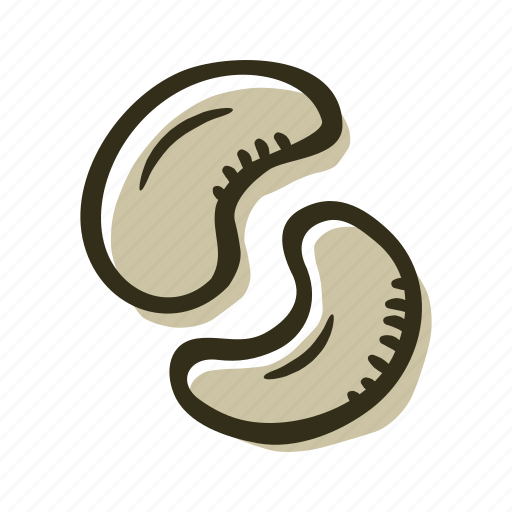 color, nuts icon