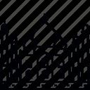 building, india, landmark, mausoleum, taj mahal, tourism, travel icon