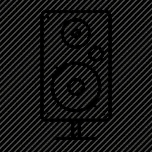 Audio, entertainment, loudspeaker, media, music, sound, speaker icon - Download on Iconfinder