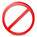 exit, restricted, stop icon