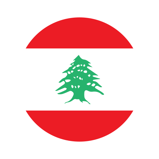 asia, circle, country, ellipse, flag, lebanon, national icon