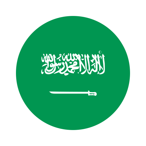 asia, circle, country, flag, nation, national, saudi arab icon