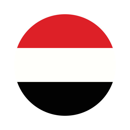 asia, circle, country, flag, nation, national, yemen icon