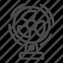 ventilator, fan, blower, electric, air, flow, stand