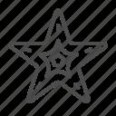 starfish, star, sea, ocean, creature, fish