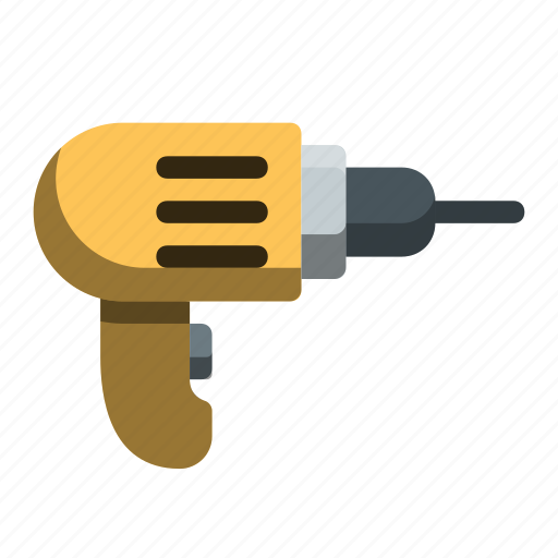 build, drill, fix, mechanic, power, tool, tools icon