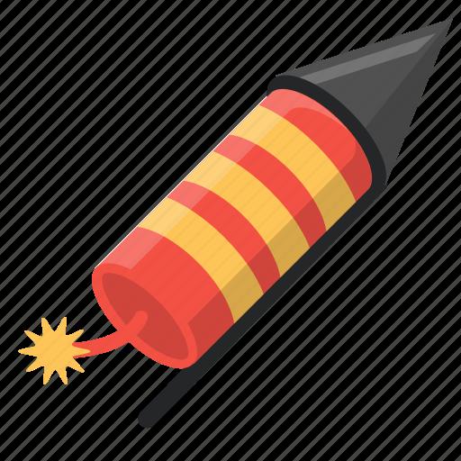 celebration, diwali, festival, firework, fireworks, independence day, rocket icon