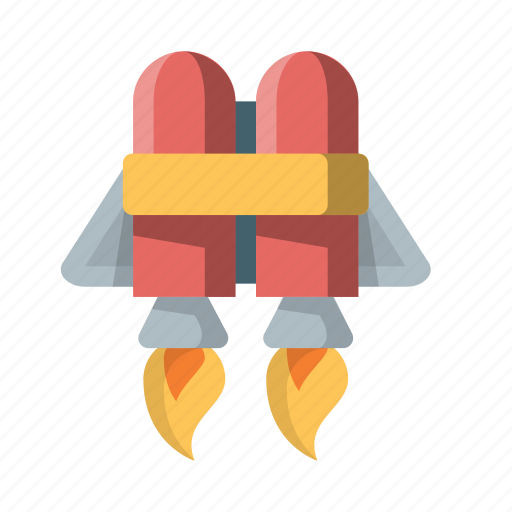 deploy, jetpack, launch, rocket, space, startup, tech icon