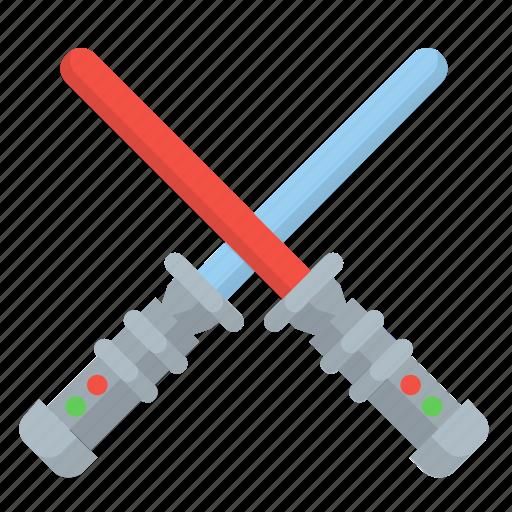 battle, fight, light, lightsabers, saber, star, starwars icon