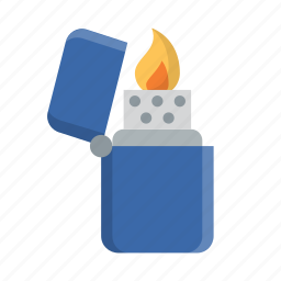 burn, burning, camping, fire, flame, hot, lighter icon