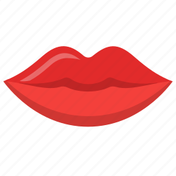 beauty, kiss, lips, lipstick, mouth, woman icon