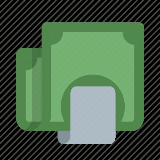 cash, dollars, money, moneyclip, payment, reward icon