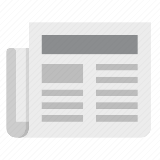 Newspaper, feed, media, news, newsletter, press, social icon - Download on Iconfinder