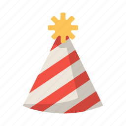 birthday, celebration, hat, kids, party, partyhat icon