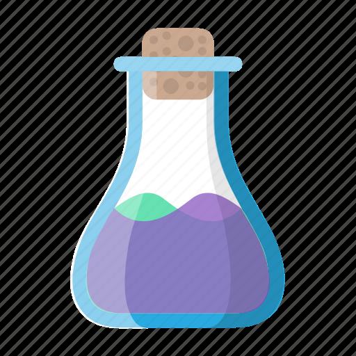 concoction, lab, magic, mix, mixture, potion, test tube icon