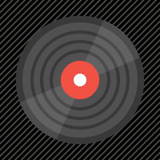 album, audio, music, record, vintage icon