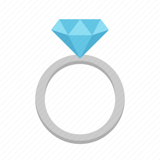 Ring, diamond, engagement, gem, jewelry, marriage, wedding icon - Download on Iconfinder