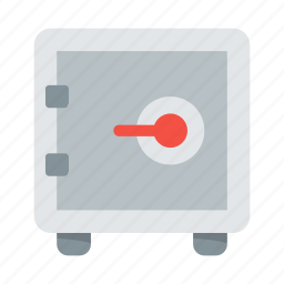 bank, money, privacy, protect, safe, secure, security icon