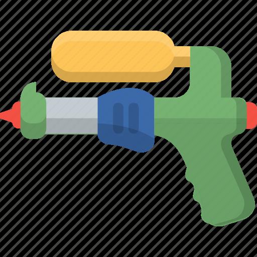 fun, gun, play, squirt, summer, toy, water icon