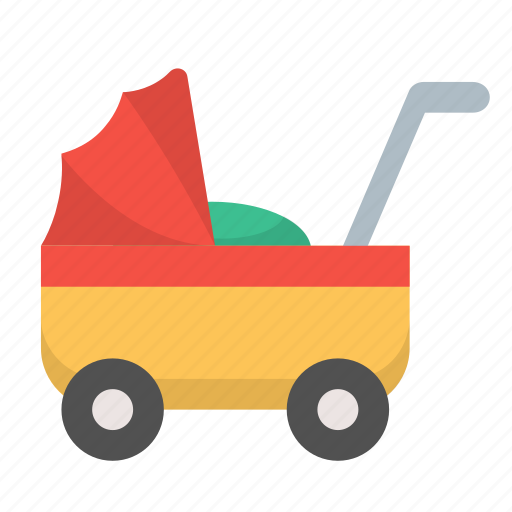 baby, buggy, carriage, child, stroller, toddler icon