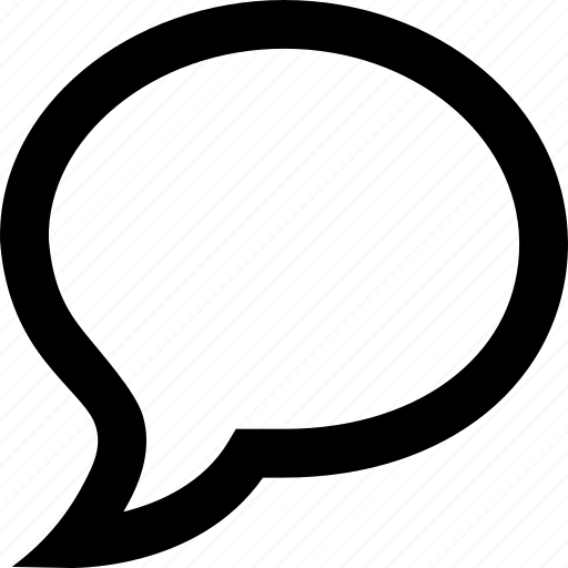 bubble, chat message, comment, communication, talk, text, word icon