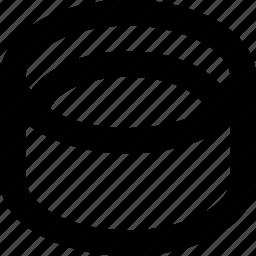 circle, design, hole, object, shape icon