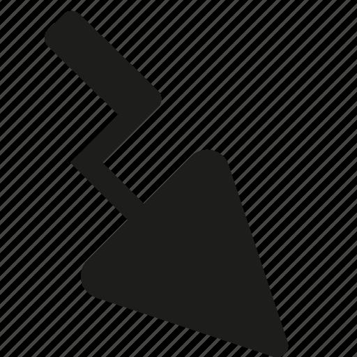 hand, shovel icon