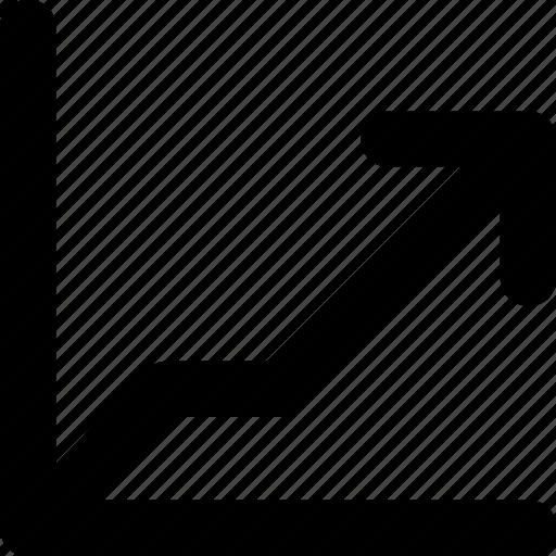 analytics, graph, growth, progress, statistics icon