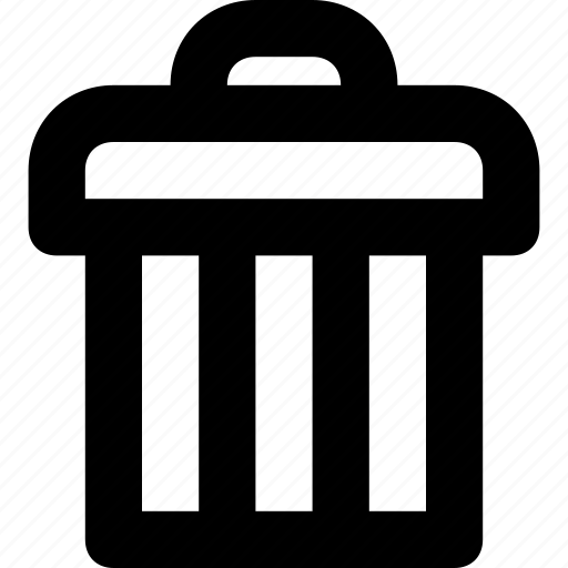 delete, dustbin, garbage, remove, trash icon